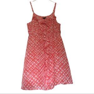 Coral Ruffle Cami Dress by Lane Bryant 18/20